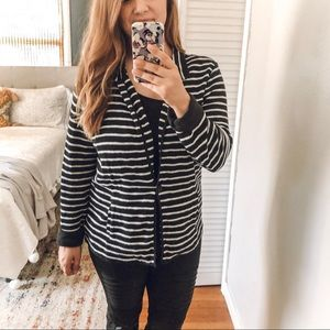 Caslon Lightweight Black and White Blazer